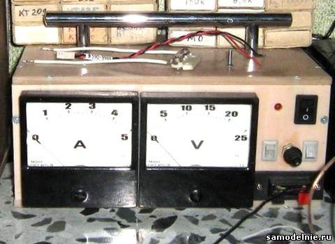 приставка автомат к зарядному устройству схемы