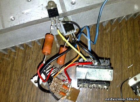 Электрические схемы.  Термометр универсальный электрический туэ-48-т схема.