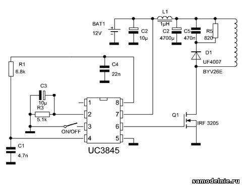 2 вариант схемы беспроводного
