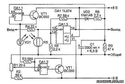 компрессор аудиосигнала.