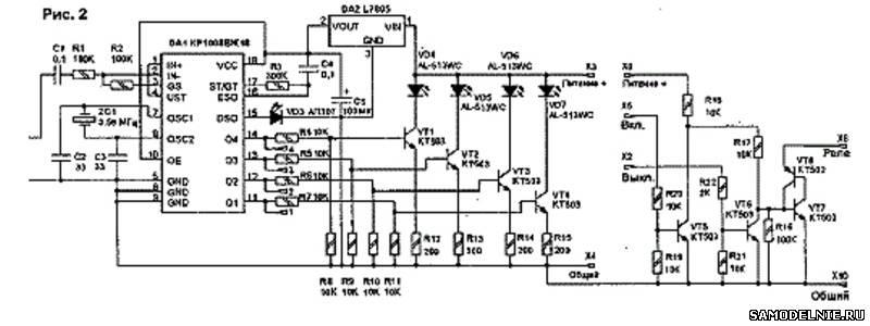 Схема передатчика измерителя