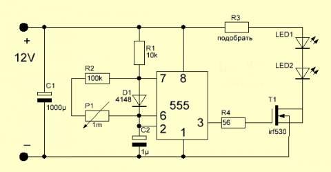 Самодельные измерительные приборы. Схемы конструкции ...