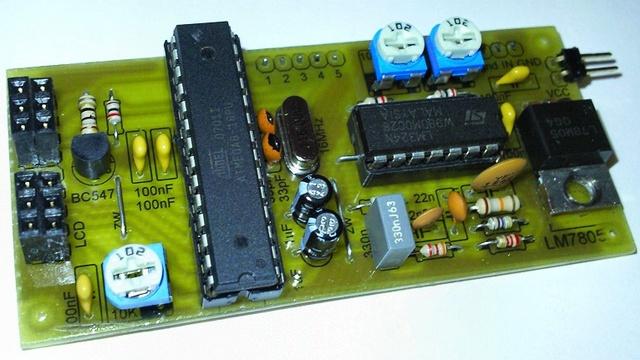 звуковой анализатор спектра