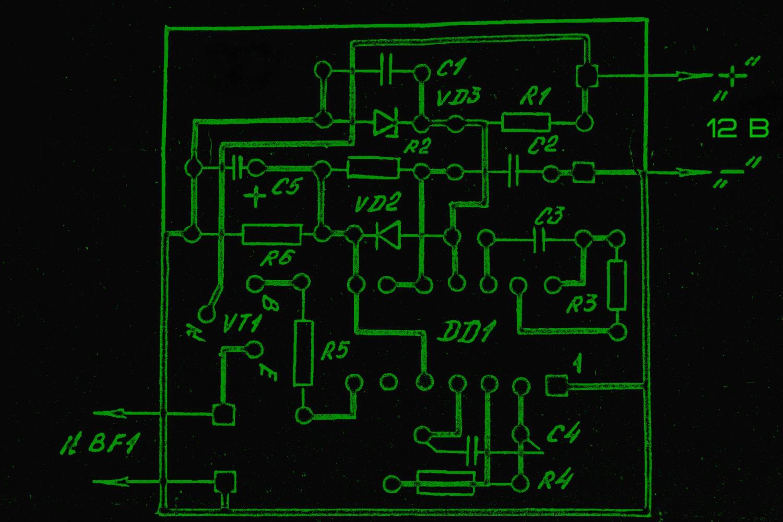частотомер схема из автомагнитол самоделки