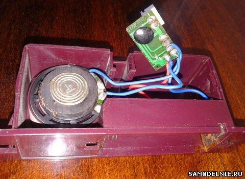 микросхемка-генератор мелодии