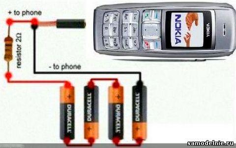 Далее нужно все 4 батарейки