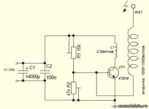 Резистор 47 килоом регулирует