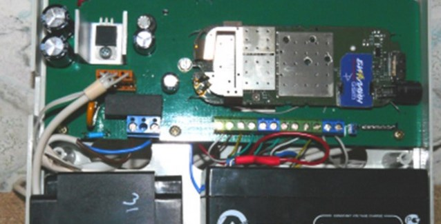 Схема устройства показана на
