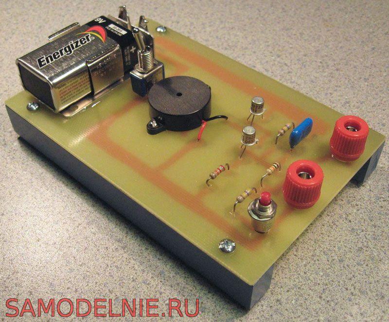 470 K резистор на вход,